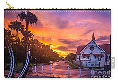 Sunset In Sandgate Carry-all Pouch