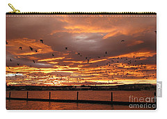 Sunset In Tauranga New Zealand Carry-all Pouch