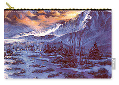 Sunset Indian Village Carry-all Pouch