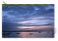 Carry-all Pouch featuring the photograph Sunset by Karen Silvestri