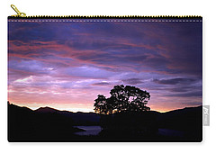 Carry-all Pouch featuring the photograph Sunset Lake by Matt Harang