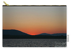 Sunset Lines Of Lake Umbagog  Carry-all Pouch