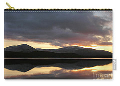 Carry-all Pouch featuring the photograph Sunset - Loch Morlich - Scotland by Phil Banks