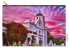 Sunset Mission San Luis Rey De Francia By Diana Sainz Carry-all Pouch