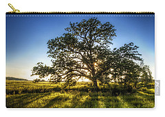 Sunset Oak Carry-all Pouch