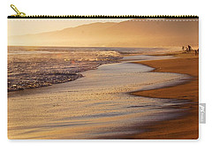 Sunset On A Beach Carry-all Pouch