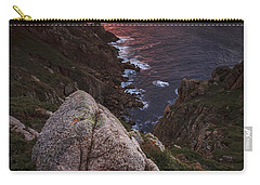 Carry-all Pouch featuring the photograph Sunset On Cape Prior Galicia Spain by Pablo Avanzini