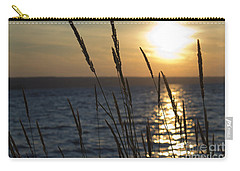 Sunset On Cayuga Lake Carry-all Pouch
