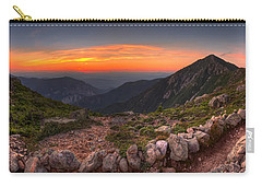 Sunset On Franconia Ridge Carry-all Pouch