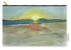 Sunset On Hilton Head Island Carry-all Pouch by Frank Bright