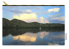 Carry-all Pouch featuring the photograph Sunset On Komodo by Sergey Lukashin