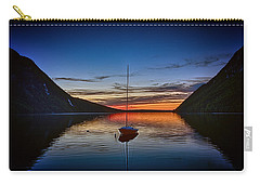 Sunset On Lake Willoughby Carry-all Pouch