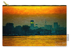 Sunset On Milwaukee's South Side  Carry-all Pouch