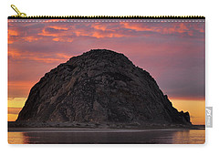 Sunset On Morro Rock Carry-all Pouch