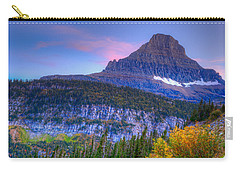 Sunset On Reynolds Mountain Carry-all Pouch