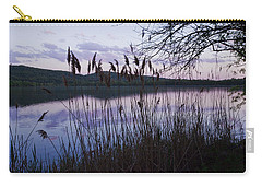 Sunset On Rockland Lake - New York Carry-all Pouch