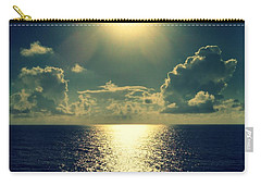 Sunset On The Atlantic Ocean Carry-all Pouch by Paulo Guimaraes