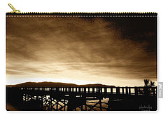 Sunset On The Boardwalk Carry-all Pouch