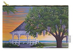 Sunset On The Gazeebo Carry-all Pouch
