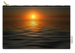 sunset on the Gulf Carry-all Pouch