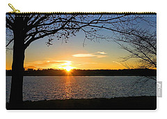 Sunset On The Potomac Carry-all Pouch