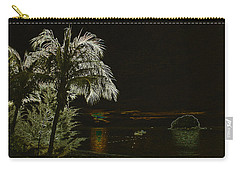 Carry-all Pouch featuring the photograph Sunset On Tioman Island by Sergey Lukashin