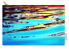 Sunset On Water Carry-all Pouch by Faith Williams