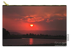 Sunset Over Hope Island Carry-all Pouch