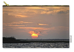 Sunset Over Lake Como Carry-all Pouch