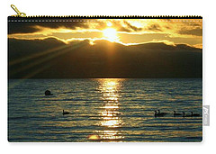 Sunset Over Lake Tahoe Carry-all Pouch