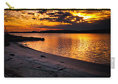 Sunset Over Little Assawoman Bay Carry-all Pouch