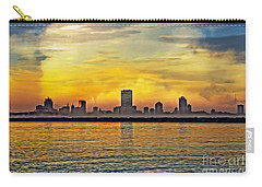 Sunset Over Milwaukee Carry-all Pouch