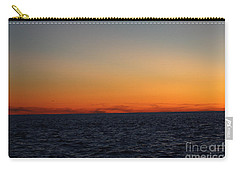 Carry-all Pouch featuring the photograph Sunset Over Point Lookout by John Telfer
