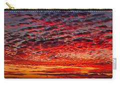 Sunset Over Saunder's Reef Carry-all Pouch