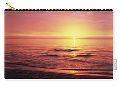 Sunset Over The Sea, Venice Beach Carry-all Pouch