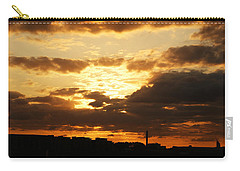 Sunset Over The Thames From Greenwich Carry-all Pouch