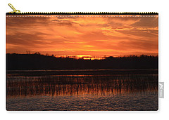 Sunset Over Tiny Marsh Carry-all Pouch