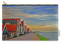 Sunset Over Volendam Carry-all Pouch