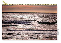 Sunset Ocean Carry-all Pouch by Roxy Hurtubise