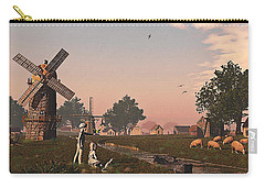 Sunset Play Carry-all Pouch by Ken Morris
