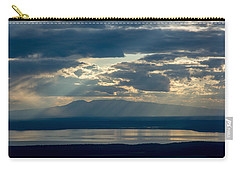 Sunset Rays Over Mount Susitna Carry-all Pouch