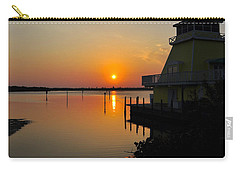 Sunset Reflections Carry-all Pouch by Jim Brage
