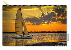 Sunset Sail Carry-all Pouch by Marvin Spates