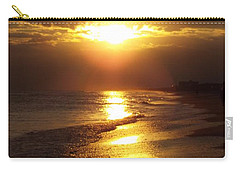 Sunset  Sand  Waves Carry-all Pouch