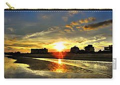 Carry-all Pouch featuring the photograph Sunset by Savannah Gibbs