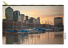 Carry-all Pouch featuring the photograph Buenos Aires Sunset by Silvia Bruno
