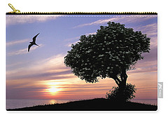 Sunset Tree Of Tranquility Carry-all Pouch