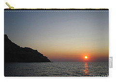 Carry-all Pouch featuring the photograph Sunset by Vicki Spindler