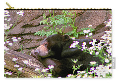 Carry-all Pouch featuring the photograph Sunshine Bear by Adam Olsen