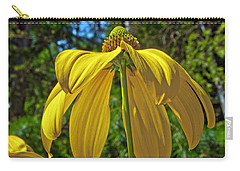 Carry-all Pouch featuring the photograph Sunshine On My Shoulders by Tikvah's Hope